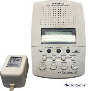 Vintage Radio Shack Digital Answering Machine Caller ID #TAD-704 Tested