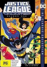 Justice League Unlimited Season 1 One DVD NEW Region 4