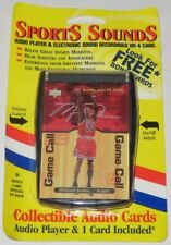 2000 Michael Jordan Upper Deck Sports Sounds Collectible Audio Card Set Sealed