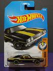 2017 Hot Wheels '69 DODGE CHARGER 500, HW MUSCLE MANIA BLACK MOON EYES car 6/10