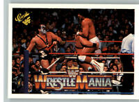 1990 Classic WWF WWE History of Wrestlemania #66 Rick Martel Demolition