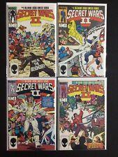 4 Issue Lot -  Secret Wars 2 Limited Series 1 4 6 7 X-Men New Mutants Avengers