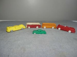 Plasticville  Lot of  5 Vehicles