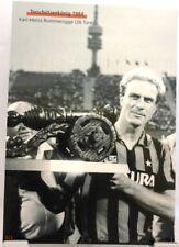 K.-H. Rummenigge + Torschützenkönig 1984 B. München  + Fan Big Card Edition C80