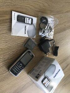 Nokia 6233 - Schwarz (Ohne Simlock) 100% Original !!! wie Neu !!!