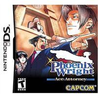 Phoenix Wright: Ace Attorney [Nintendo DS DSi, Detective Mystery Investigate]