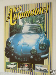 HA-07 RENAULT ALPINE ARTICLE AND POSTER 8 PAGES,A110,1300S,LE MANS,A310