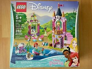 LEGO DISNEY PRINCESS 41162 Ariel, Aurora and Tiana's Royal Celebration NISB NEW