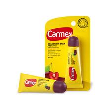 Carmex Classic Lip Balm Medicated Protect Dry Sunscreen SPF15 Tube Cherry 0.35oz