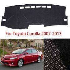 For Toyota Corolla 2007-2013 Car Dashboard Cover Dash Mat Anti-Slip Pad Black