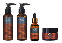 Re Pure Vitamin C Complete Skincare Set - Perfect Skin Daily Routine Value-4Pack