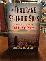 1st edition 1st printing of A Thousand Splendid Suns by Khaled Hosseini !! Nice!