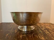 Vintage Iowa Electric Light and Power Company 44 Years Of Service Award Bowl