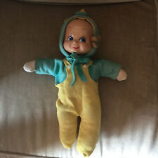 Vintage Three in One Doll Corp 1946 TRUDY 3 Face Compo Baby DOLL smile cry sleep