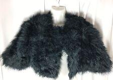 United Colors Of Benetton Women's Crop Fur Jacket Size S