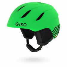 Giro Nine Ski Helmet Junior Youth Green Size Medium 55.5 - 59cm no182