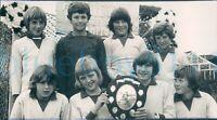 """1970s Press photo A Fleetwood  Junior Football team 6.5*3.75"""""""