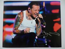 Chester Bennington Rock Legend 8x10 Photograph Signed Autographed Free Shipping