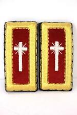 red gold cross MASONIC KNIGHT TEMPLAR shoulder boards epaulets past commander