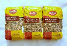 Premium Buckwheat Groats By Uvelka 800g 28.2oz (Pack of 3) Grechka Гречка Kosher