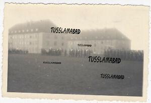 Itzehoe Kaserne Wehrmacht Vereidigung Soldaten Aufstellung Foto 1942