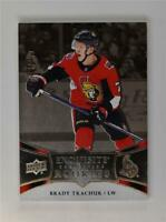 2018-19 UD Upper Deck Ice Exquisite Collection Rookies #R28 Brady Tkachuk /199