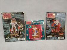 New ListingJanlynn Collector's Series Cross Stitch Ornament Kits St. Nick Santa Lot of 3