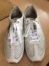 Dolce & Gabbana Men's White Leather Trainers Uk7