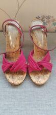 Bourne Suede Diamante Heel Shoes