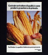 FIAT TRATTORI manifesto poster Granoturco Corn Motori Agricoltura B113