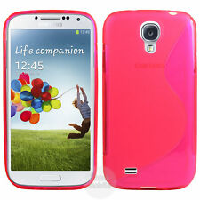 HOUSSE ETUI COQUE SILICONE GEL ROSE SAMSUNG GALAXY S4 ACTIVE i9295