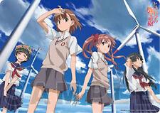 Toaru Kagaku no Railgun Group Plastic Desk Mat Anime Poster NEW