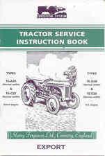 Ferguson TE-A20, TE-C20, TE-D20, TE-E20 service instruction book reprint