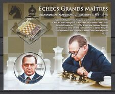 Mali, 2010 issue. A. Alexhine, Chess Master s/sheet.