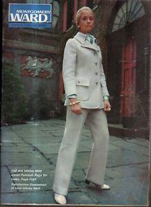 1969 Montgomery Ward's Fall/Winter Catalog-Mod clothes; Perillat skis; Bowling
