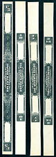 4 Different Very Large Canada Tobacco Revenue Proofs - NO CONTROL #s (Lot #rr97)