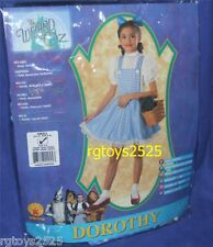 The Wizard of Oz DOROTHY Dress Costume Size Child Small 4-6 New
