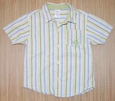 Gymboree BUG DETECTIVE Striped Button Shirt SPIDER 4
