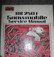 Yamaha BR250F Snowmobile Service Shop Repair Manual OEM FACTORY BR 250 F