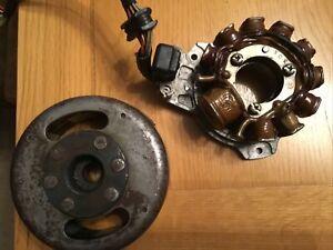 Suzuki GS125 GS 125 DR125 RG 125 Flywheel & Stator Windings ???