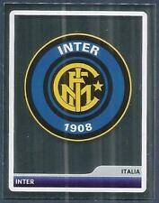 PANINI UEFA CHAMPIONS LEAGUE 2006-07- #124-INTER MILAN- TEAM BADGE-SILVER FOIL