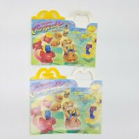 Changeables transformers 1987 McDonald's Happy Meal Box Vintage Big Mac Fries