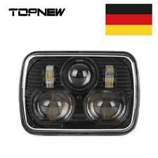 "Black 5"" X 7"" LED Headlight Replacement for Jeep Cherokee XJ Trucks"