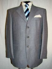 Three Button Wool Classic Double Suits & Tailoring for Men