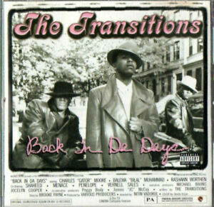 The Transitions - Back In Da Days - MUSIC CD