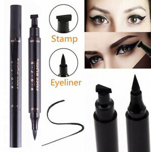 Winged Head Black Eyeliner Vamp Pen Seal Eye Liner Stamp Seal Eye Makeup Tool