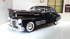 1:24 Scale Chevrolet Aerosedan Fleetline 1948 Motormax Model Car Black 73266