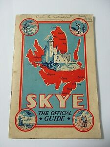 1934 OFFICIAL TOUR GUIDE - SKYE - PHOTOS AND ADVERTS