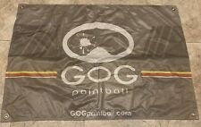 "GoG Paintball Promo Banner Wall Hanging ~ Undisplayed Mint Condition 34"" x 24"""
