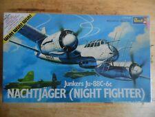 VINTAGE REVELL KIT H165  1/72    JUNKERS  JU88C-6 HEAVY NIGHT FIGHTER